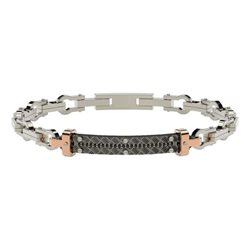 COMETE ubr784 stainless steel bracelet texture collection