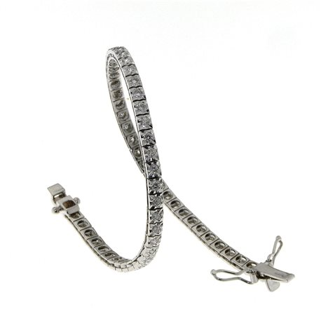 OUR CREATIONS tennis bracelet with diamonds bosmont-ten-cc-stella