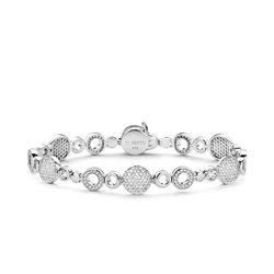 TI SENTO MILANO 2843zi bracelet in silver with zircons