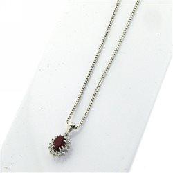 Nostre creazioni ciondolo rubino diamanti bosmont4754-cio-rb