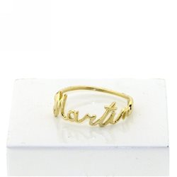 NAME AND PHRASE phrase ring pin-an-g1 jewelry