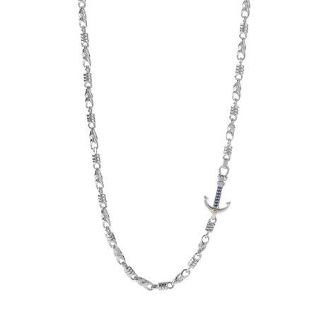 COMETE ugl-592 chain passioni collection anchor in silver