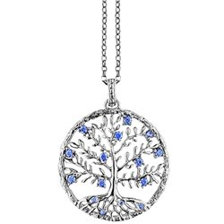Julie Julsen jj8810-1 ciondolo crystal albero della vita