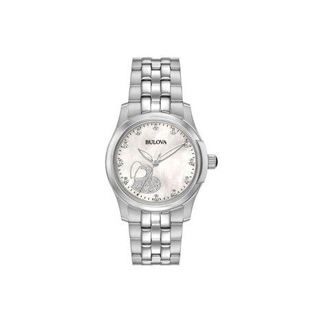 Bulova 96p182 orologio acciaio diamanti