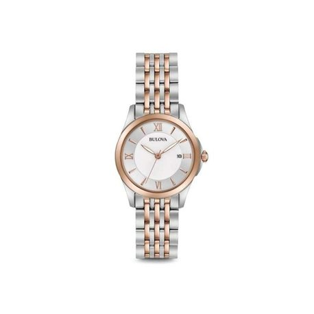 Bulova 98m125 watches woman quartz