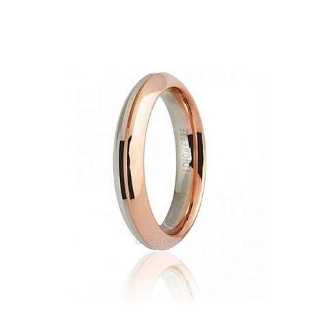 Unoaerre wedding ring 70afc290 eterna white rose gold