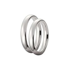 Unoaerre 35afc1 wedding ring comfort 3,5mm white gold