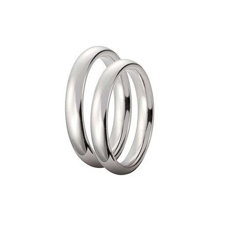 Unoaerre 35afc1 wedding ring comfort 3,5mm white gold