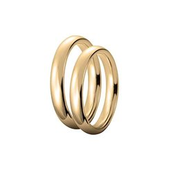 Unoaerre comfort wedding ring 35afc1 3,5mm yellow gold