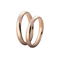 Unoaerre wedding rings 35afc1 comfort 3,5mm rose gold