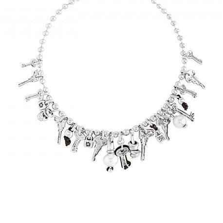 UNO de 50 col1121bplmtl0u necklace alguna abrira