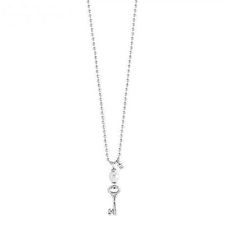 UNO de 50 col1123bplmtl0u necklace llave struz key charm