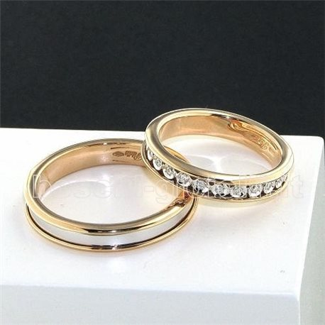 Polello 2596br wedding rings