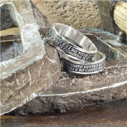 Name and phrase sculpt your ring with symbol
