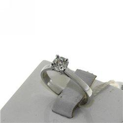 Nostre creazioni anello solitario diamante dan-3245-40