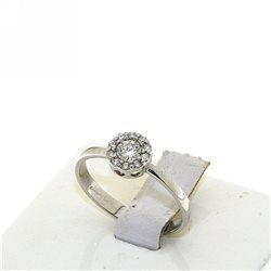 Nostre creazioni anello solitario diamante dflw-an030