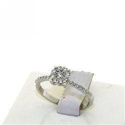 Nostre creazioni anello stile solitario diamanti dsolf-an032