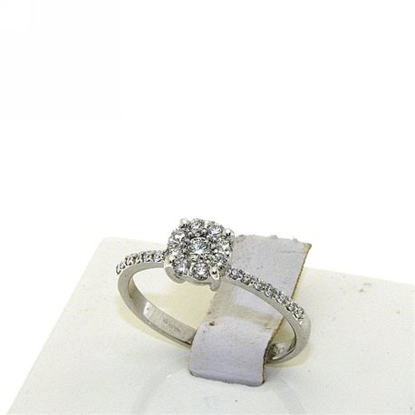 OUR CREATIONS ring solitaire diamonds dsolf-an032