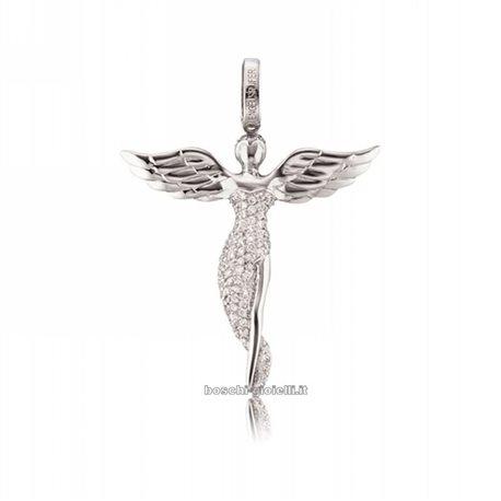 Engelsrufer erp-angel-s ciondolo angelo argento zirconi