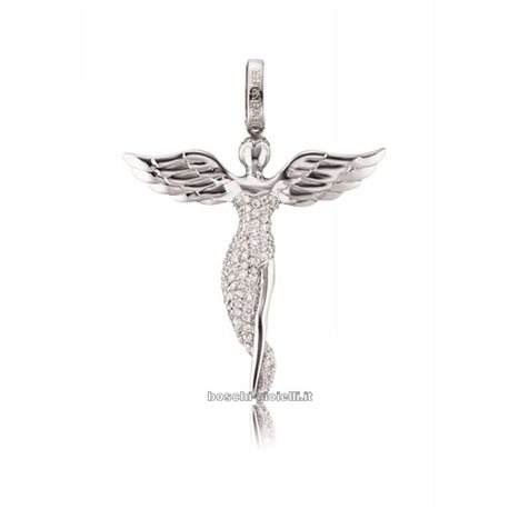 ENGELSRUFER silver pendent erp-angel-s angels with zircons