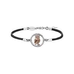 Julie Julsen bracelet jjbr2770-8 owl real lucky charm