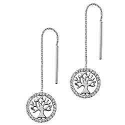 Julie Julsen earrings jjer2781-1 petite collection tree of life