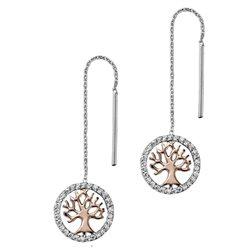 Julie Julsen jjer2781-8 orecchini pendenti albero della vita
