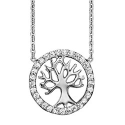 Julie Julsen jjne2780-1 petite necklace tree of life