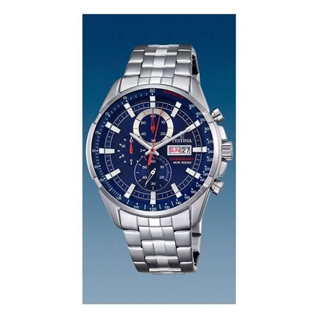 Festina f6844-3 watches chronograph quartz
