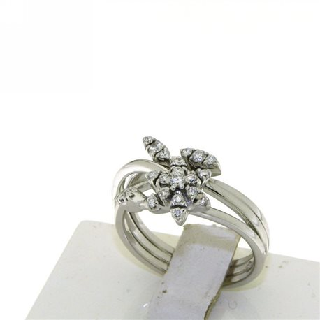 OUR CREATIONS ring flower diamonds qaaa0s8q