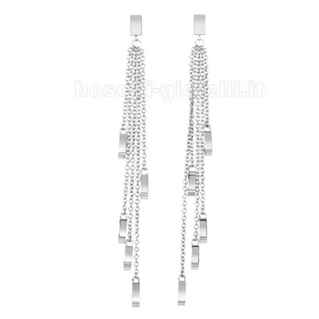 2 JEWELS 261133 steel earrings twenties collection