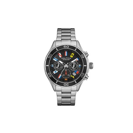 NAUTICA nad14536g watches nct 16 flags chrono