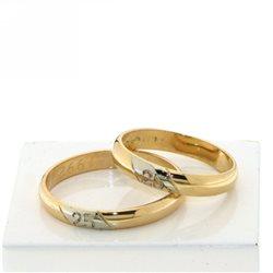 25 anniversario fede oro artigianale personalizzata