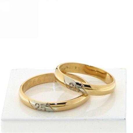 custom wedding rings 25 anniversary