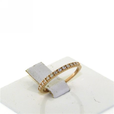 OUR CREATIONS engagement ring riviere collection dan4574rbr