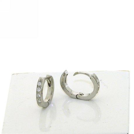 Nostre creazioni orecchini cerchi diamanti dor1576