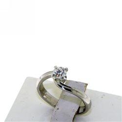 Nostre creazioni anello solitario diamante reggio emilia dan4222