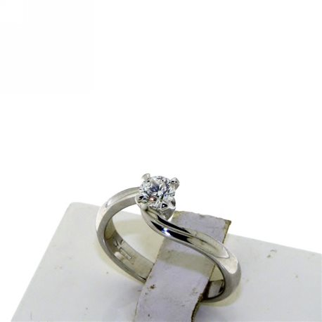 OUR CREATIONS jewelry ring solitaire diamond dan4222