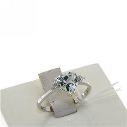 Nostre creazioni anello acquamarina taglio cuore diamanti 4966-r2