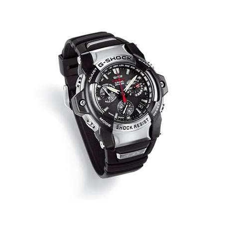 CASIO gs-1100-1aer watches g shock collction solar power radio control