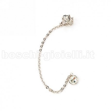 MOOD EAR CUFFS or-mp-5150 be rock silver collection