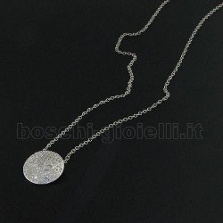 LIU.JO lj480 chain with pendent precious silver zircons