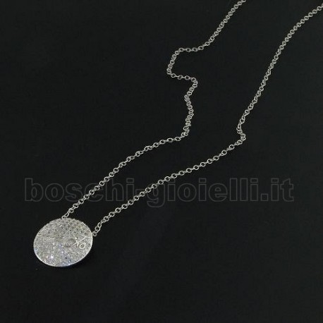 Liu Jo catena precious lj480 argento zirconi