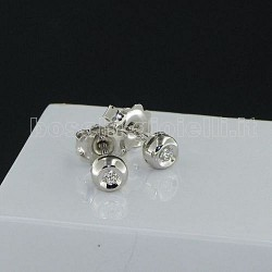 OUR CREATIONS jewelry earrings solitaire diamond mont896-cip3