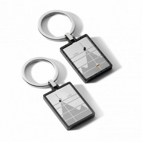 COMETE uch158 steel key ring traguardi collection