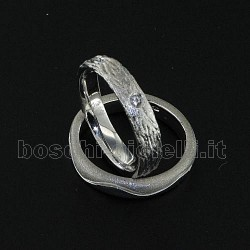 LuiLei f145 fedi nuziali argento oro platino