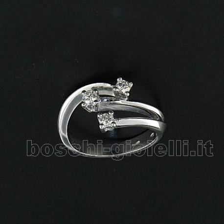 OUR CREATIONS ring trilogy contrariè diamonds bosmont3417