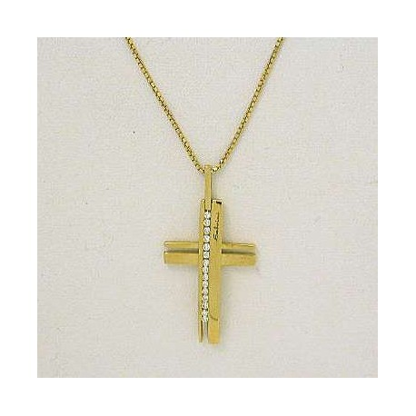 SALVINI 713172779 jewelry chain with cross