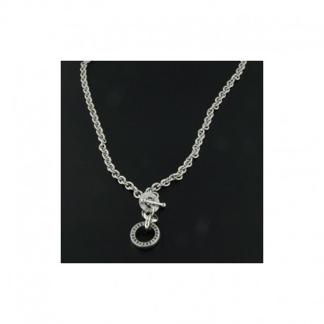 MARIA CRISTINA STERLING mu0094 jewelry chain with pendents panama