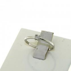 Nostre Creazioni anello solitario oro diamante fidanzati 4985-2